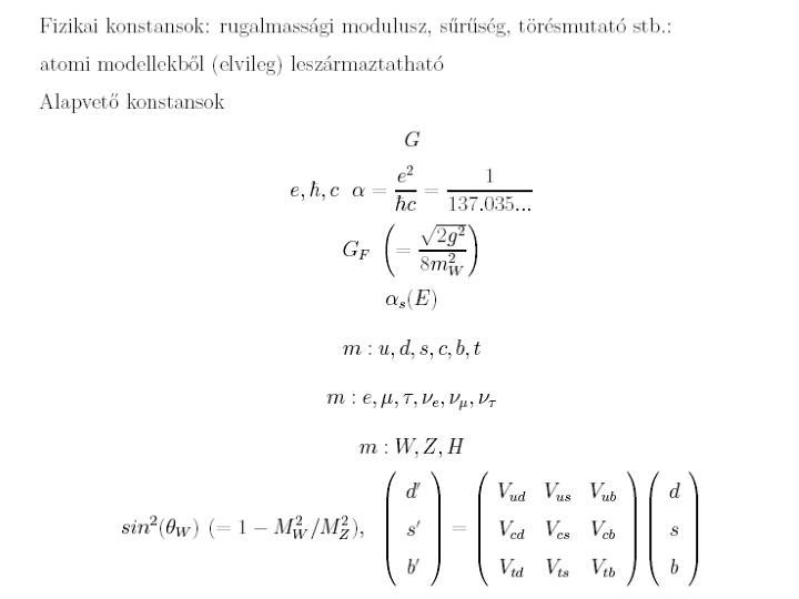 Alapvet fizikai lland k s lehets ges v ltoz suk cs t attila elte atomfizikai tansz k