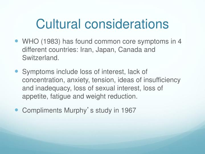 cultural considerations Critical care nurses must develop cultural competency to be effective in establishing rapport with patients, and to accurately assess, develop, and implement nursing interventions designed to meet patients' needs culturally competent nursing care.