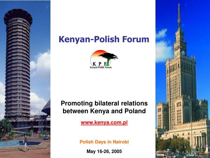 kenyan polish forum n.