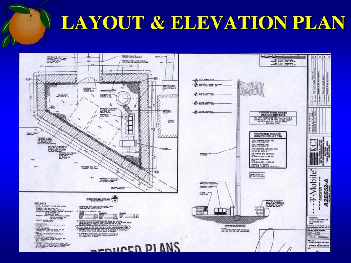 LAYOUT & ELEVATION PLAN