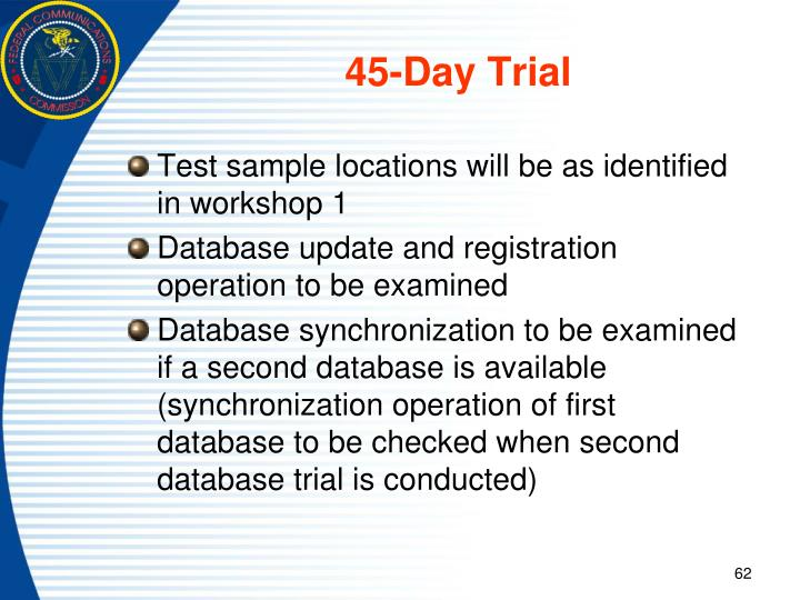 45-Day Trial