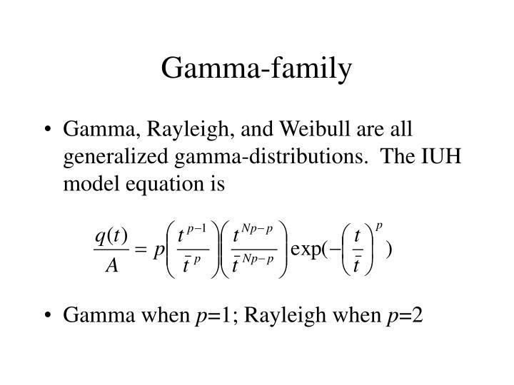 Gamma-family