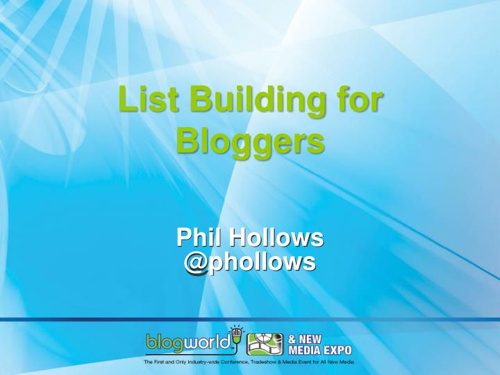 list building for bloggers n.