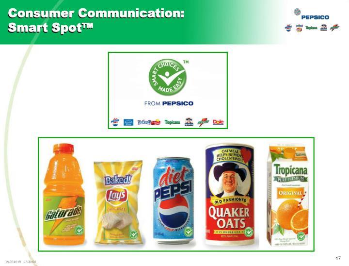 Consumer Communication:
