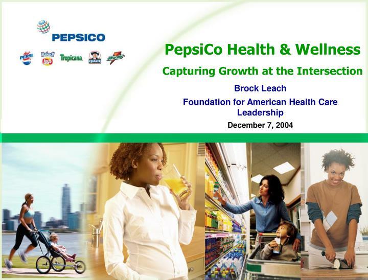 PepsiCo Health & Wellness