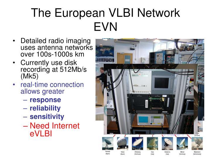 The European VLBI Network