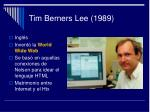 tim berners lee 1989