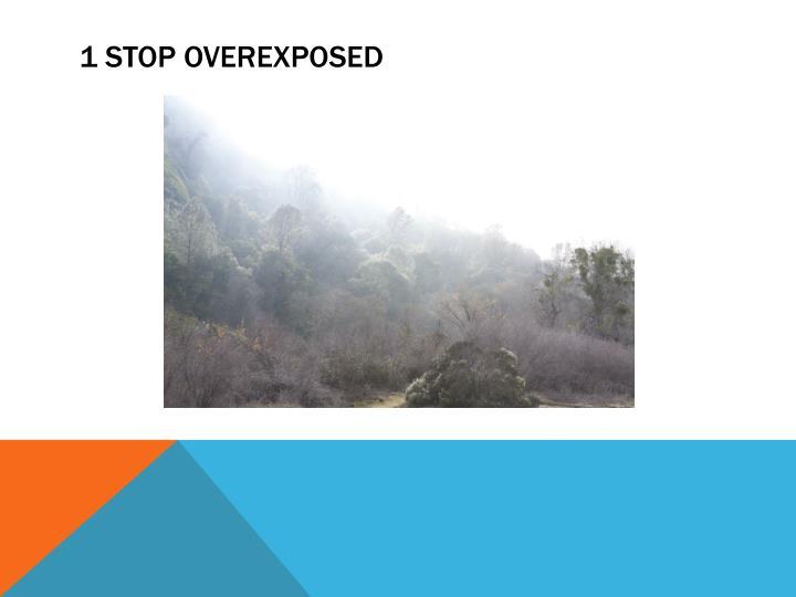 1 STOP OVEREXPOSED