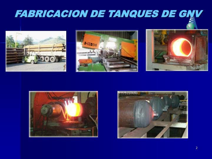 FABRICACION DE TANQUES DE GNV