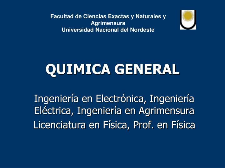 quimica general n.