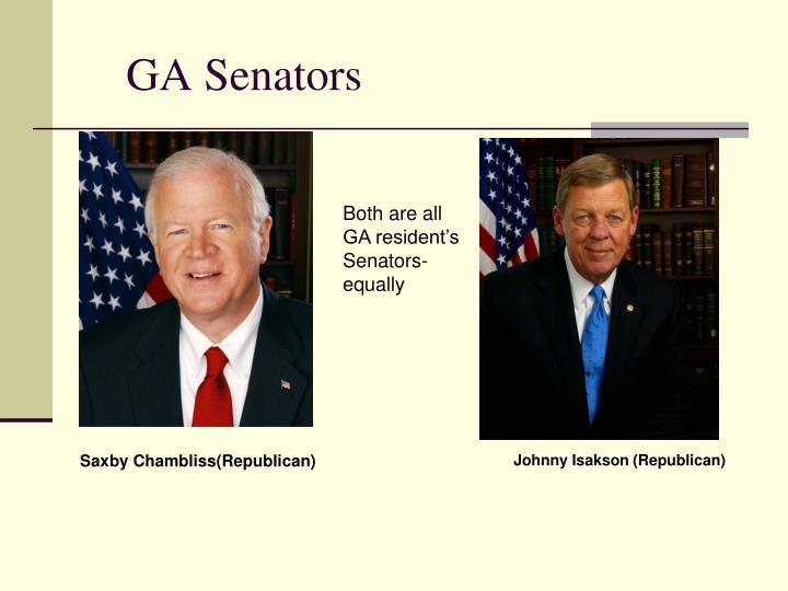 GA Senators