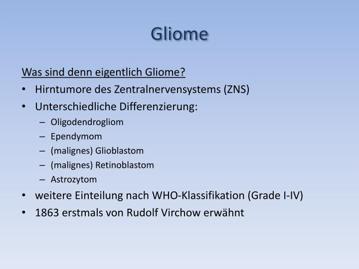 Gliome