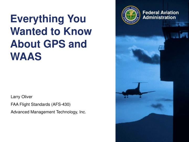 everything you wanted to know about gps and waas n.