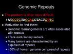 genomic repeats1