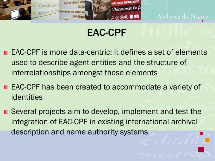 EAC-CPF