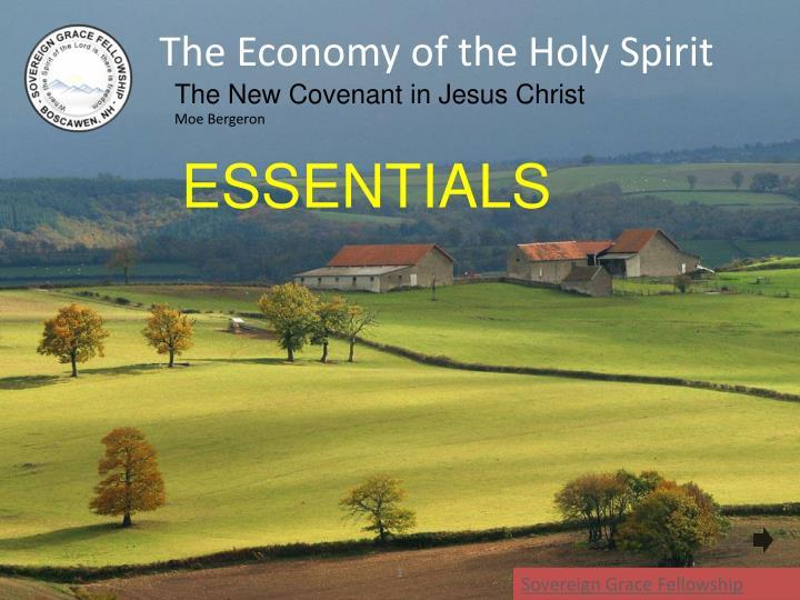 The Economy of the Holy Spirit