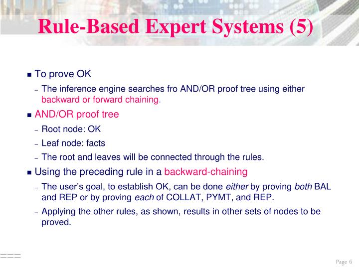 Rule-Based Expert Systems (5)