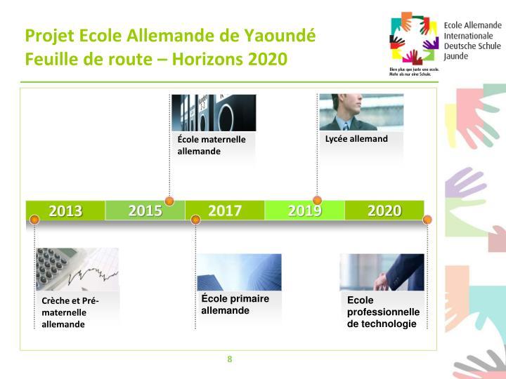 Projet Ecole Allemande de Yaoundé