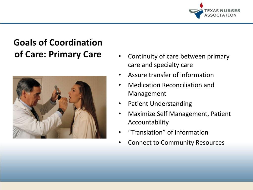 PPT - Care Coordination and the Essential Role of Nursing ...
