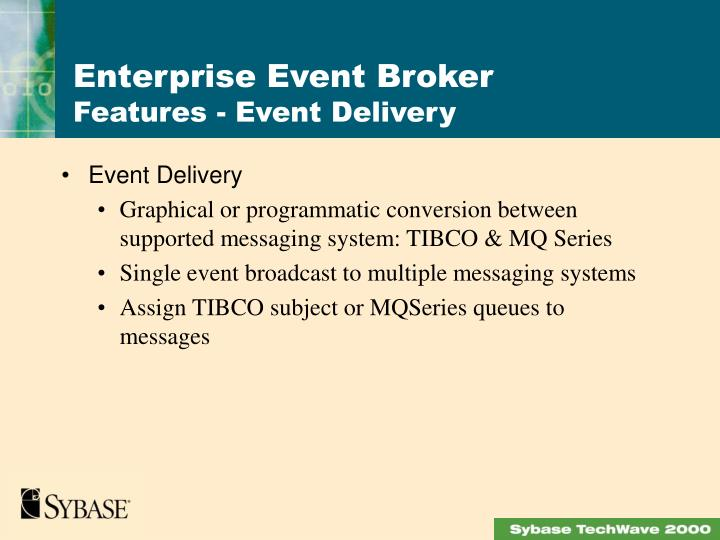 Event Delivery