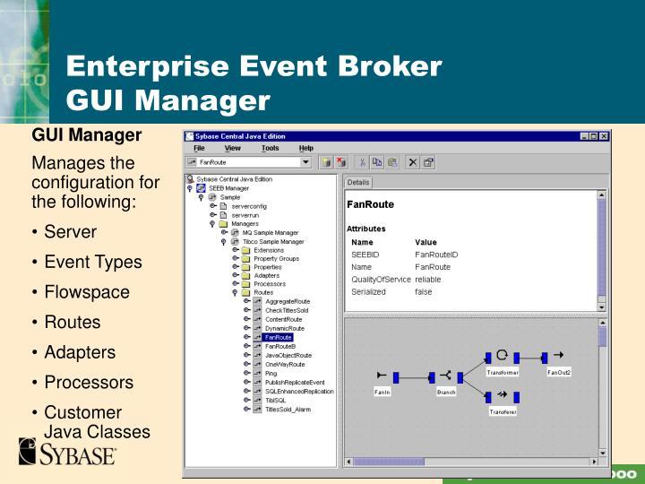 Enterprise Event Broker