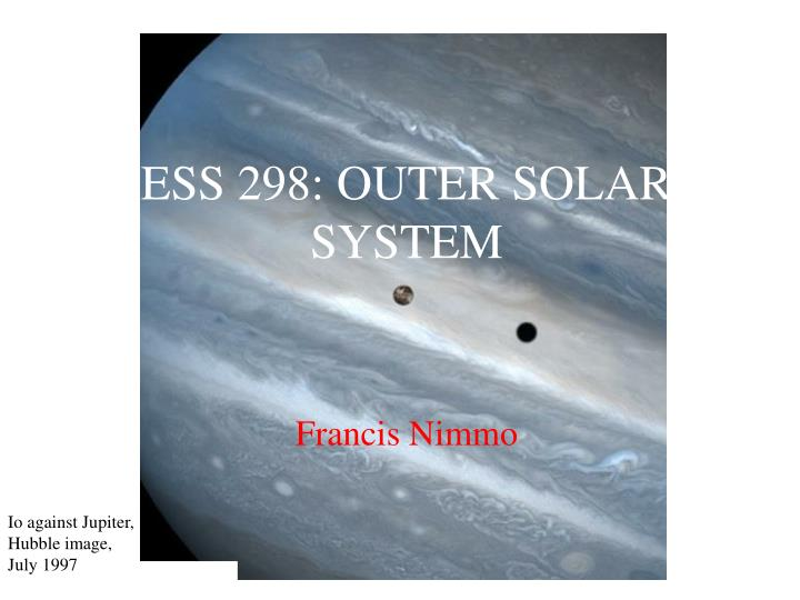 ess 298 outer solar system n.
