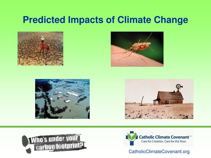 Predicted Impacts of Climate Change
