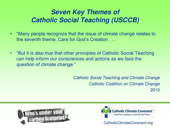 Seven Key Themes of
