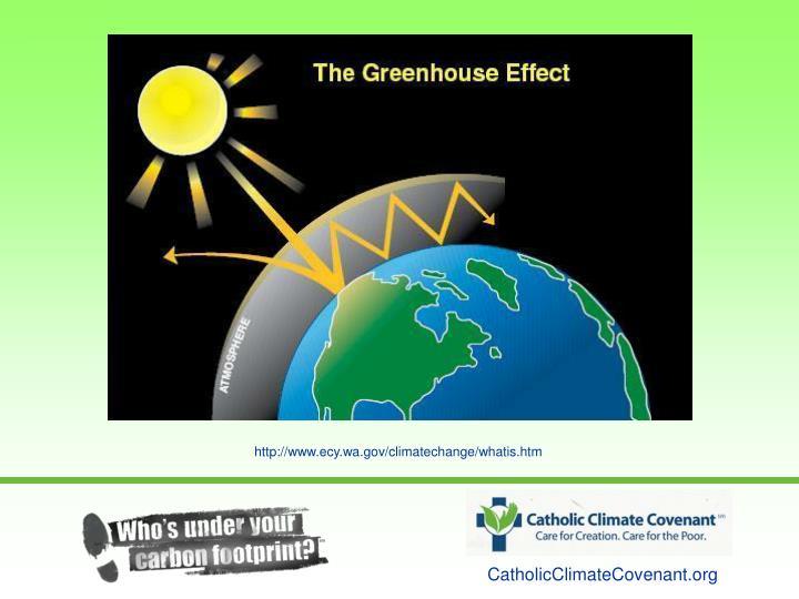 http://www.ecy.wa.gov/climatechange/whatis.htm