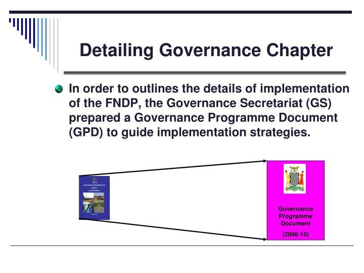 Governance Programme Document