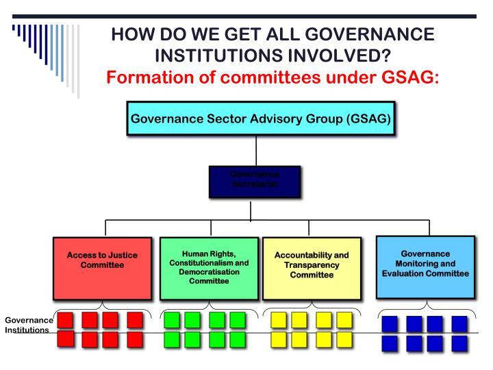 Governance Secretariat
