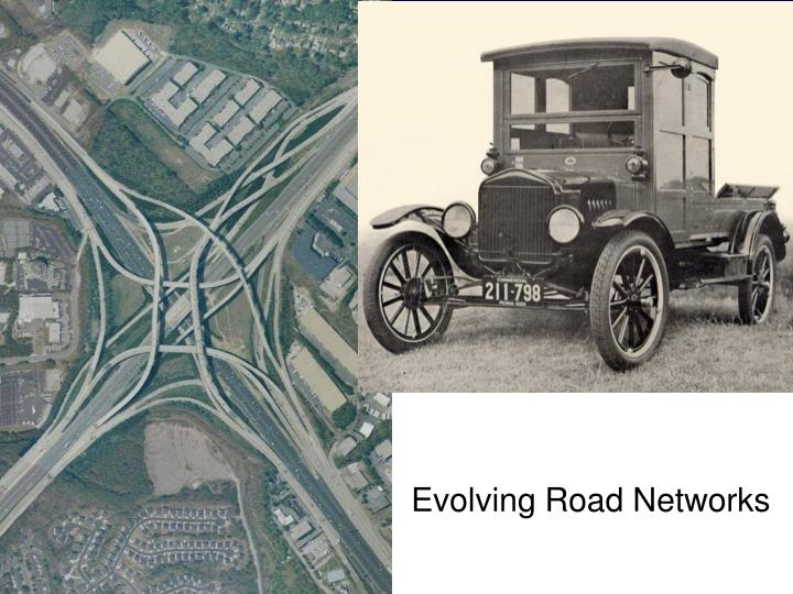 Evolving Road Networks