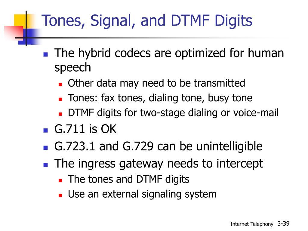G729 Dtmf