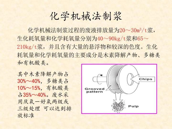 化学机械法制浆