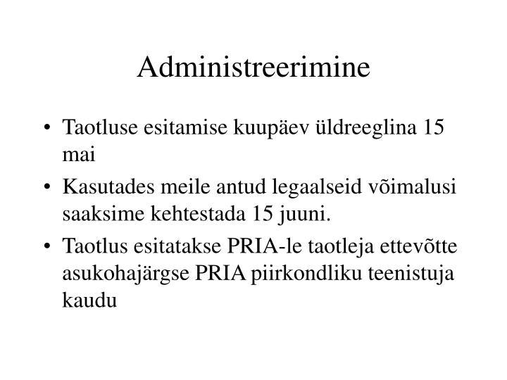 Administreerimine