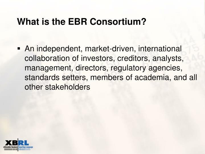 What is the ebr consortium