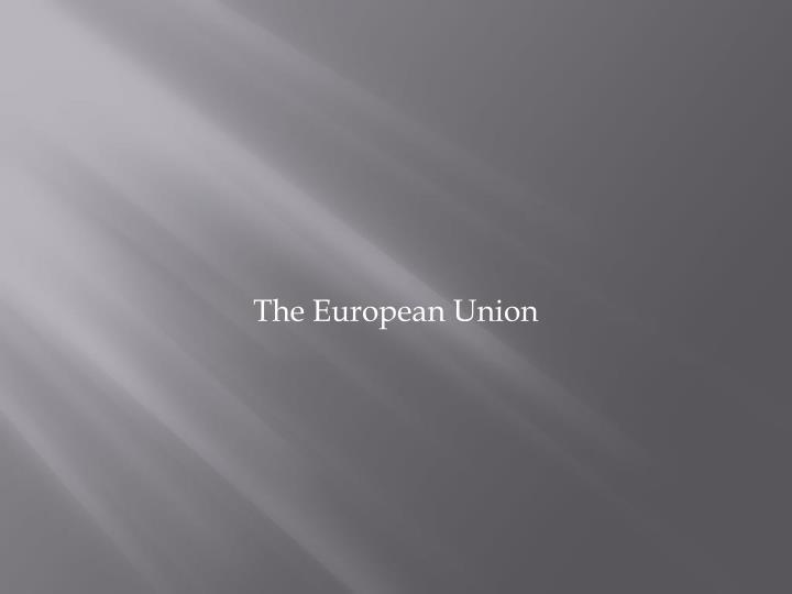 the european union n.