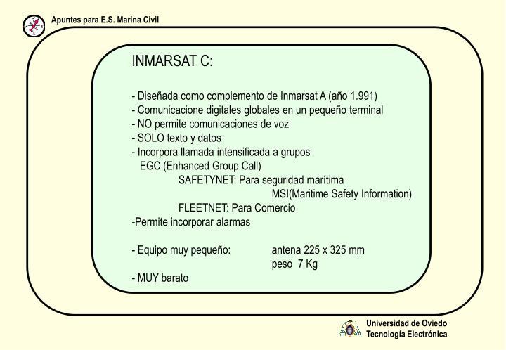 INMARSAT C: