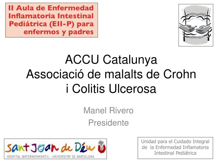 accu catalunya associaci de malalts de crohn i colitis ulcerosa n.
