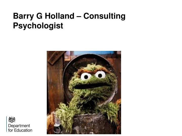 barry g holland consulting psychologist n.