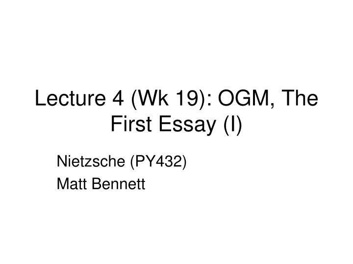 nietzsche essay questions Critical essays the bildungsroman study help essay questions naphta's delight in purely esthetic experience and his terrorism in the light of nietzsche's.