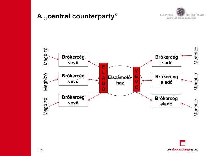 "A ""central counterparty"""