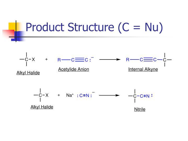 Product Structure (C = Nu)