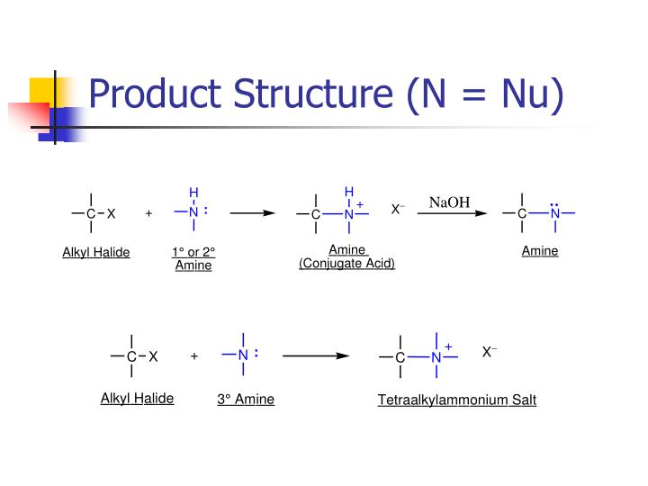 Product Structure (N = Nu)