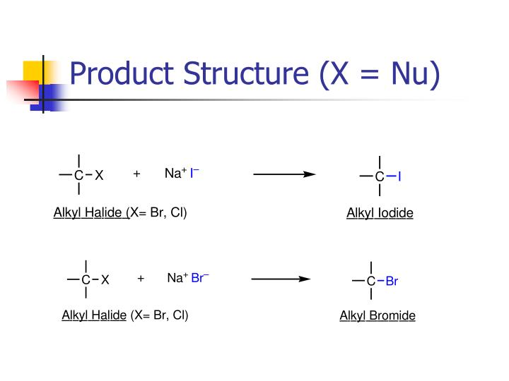 Product Structure (X = Nu)