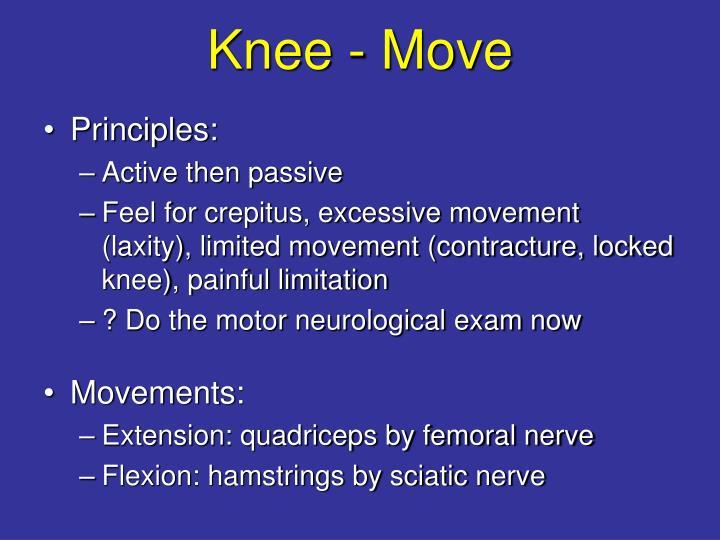 Knee - Move