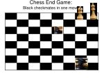 chess end game black checkmates in one move