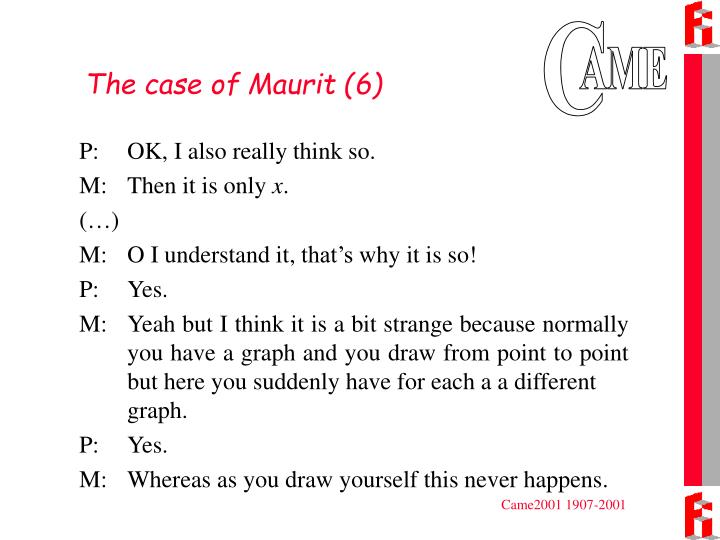The case of Maurit (6)