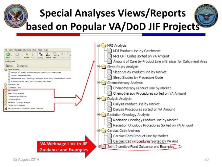 PPT - VA/DoD Sharing Conference - Creating Value for ...
