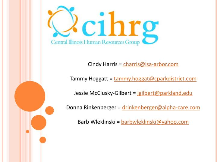 Cindy Harris =